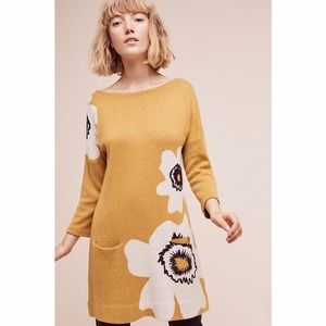 NWT Anthropologie Field Flowers sweater tunic