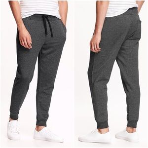 Old Navy Gray Tapered Fleece Joggers Sweatpants