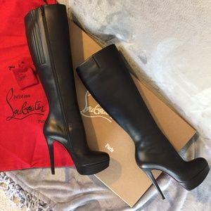 ebe2a92d9fc Christian Louboutin Bianca Botta Platform Boots