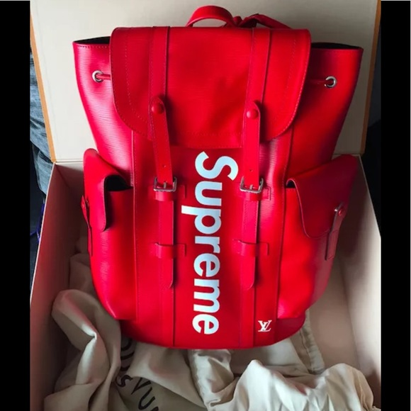83d2eaaf885 Supreme x Louis Vuitton Christopher Backpack NWT