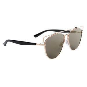 Accessories - Trendy Gold Mirror Aviator Sunglasses
