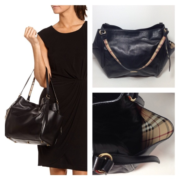 31665a825184 BURBERRY CANTERBURY LEATHER TOTE