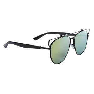 Accessories - Trendy Green Mirrored Sunglasses