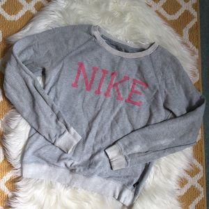 nike crewneck sweatshirt size S