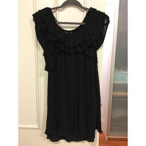 NWOT Uniqlo Ruffle Top Dress