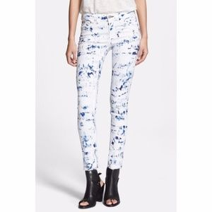 Rag & Bone 'The Skinny' low rise stretch jeans