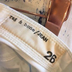 rag & bone Jeans - Rag & Bone 'The Skinny' low rise stretch jeans