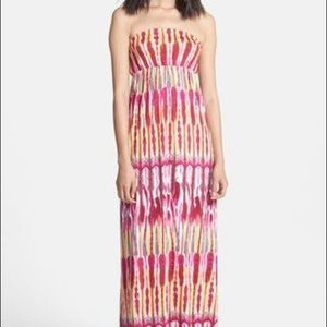 ✨FELICITY COCO Print Strapless Jersey Maxi Dress