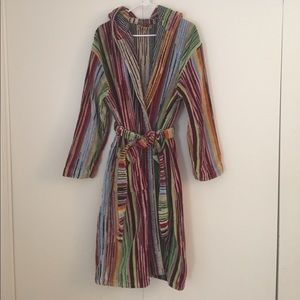 Missoni bathrobe
