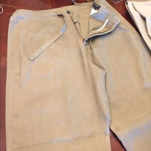 Draw-string light weight trousers