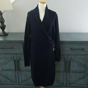 Ralph Lauren sweater dress large