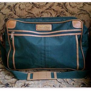 Oscar de la Renta Vintage Travel Bag