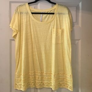 Lauren Conrad Pocket Tee