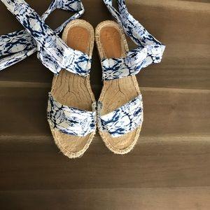 ASOS Lace Up Espadrille Sandals
