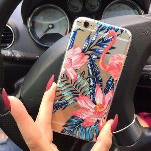 Accessories - 🌺 Tropical Flamingo Apple Iphone case 7 7+ 🌺
