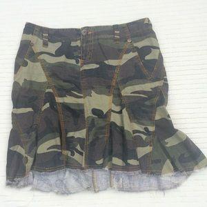 Joie linen skirt