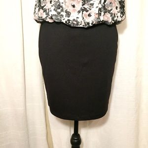 Tracy Evans limited mini pencil skirt