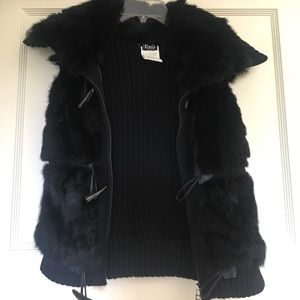 Original D & G fur vest