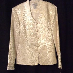 Image result for cream gold brocade jacket