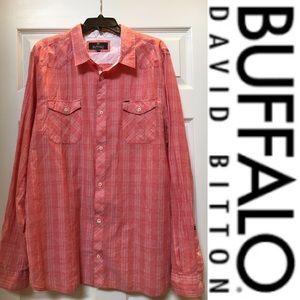 🔹Buffalo🔹Long Sleeve Button Down Shirt