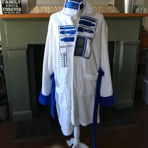 Other - Star Wars R2D2 hooded fleece robe