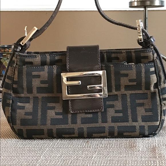 839253624bf3 fendi Handbags - Fendi Baguette Mini Bag has Serial Number