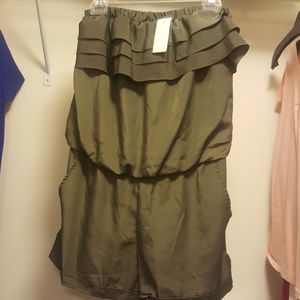 Halter Romper Shorts
