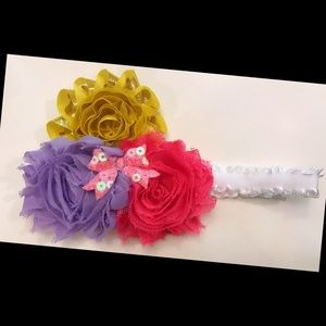 Other - Baby Girls Floral Headband