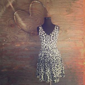 EUC printed Aline dress