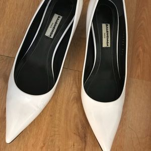 Balenciaga Kitten Heel Pumps