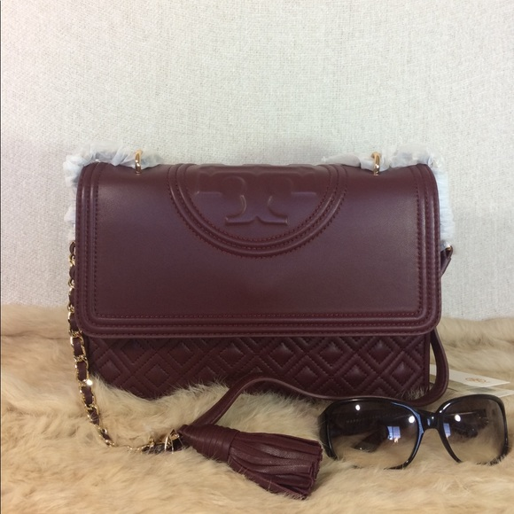 cdd45405f61 Tory Burch Port Royal Convertible Fleming. NWT