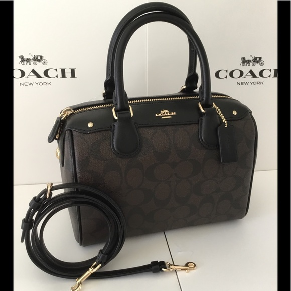 🌹Authentic Coach Signature Mini Bennett Satchel dde722a814ff3