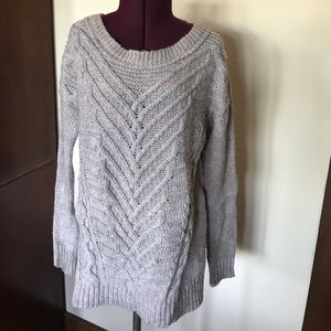 American Eagle Gray Sweater NWT New