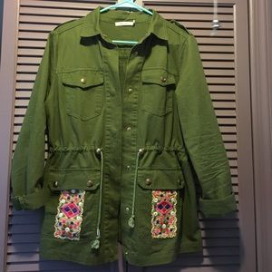 Jackets & Blazers - Adorable army jacket from SPAIN 😊