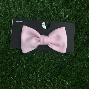 American Apparel Pink Bow Hair Clip