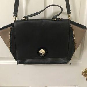 Kate Spade Satchel/Cross body black leather bag