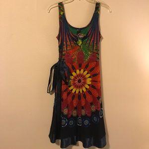 Flowery sexy dress by Desigual