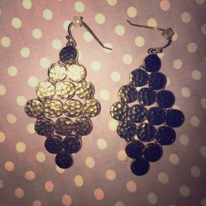 Gold Ann Taylor earrings