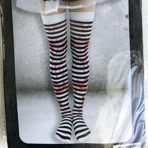 Accessories - Blood splattered knee high socks!