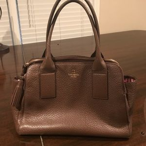 Like new Kate Spade brown leather bag.