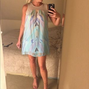 Gypsy05 silk trapeze sheath dress
