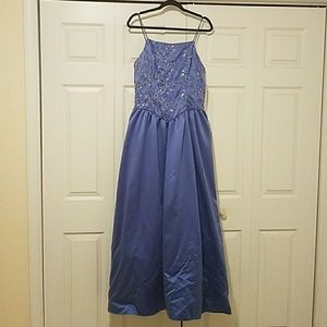Periwinkle Evening Gown Size 13