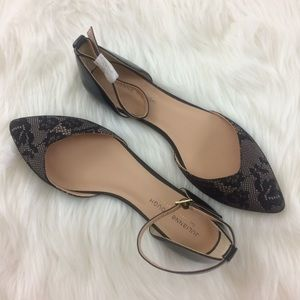 Sole Society Julianne Hough  Pointy Toe Flats 8.5