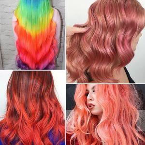 Lime Crime Unicorn Hair Dye Neon Peach Nwt