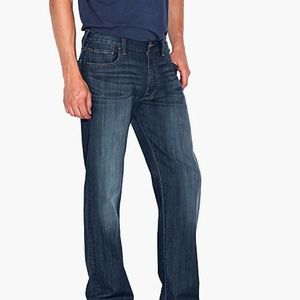 Lucky Brand 181 relaxed straight jean 34/30