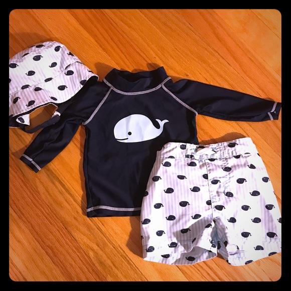 6b3318465ce Baby boy swim trunks