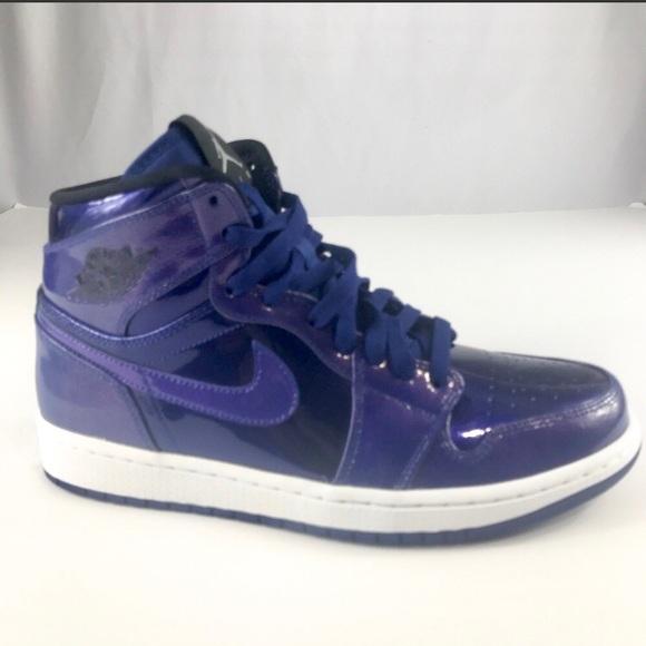 Nike Air Jordan 1 Retro High Mens Patent Leather