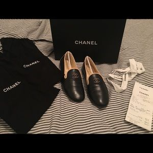 66db3a680b62b CHANEL Shoes - CHANEL Moccasin Loafers In Lambskin- 🔥SALE🔥