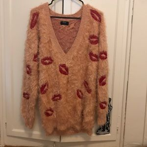 Nasty Gal Oversized Sweater Small