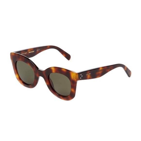 b93a4d8a9d53 Celine Baby Marta sunglasses in Havana